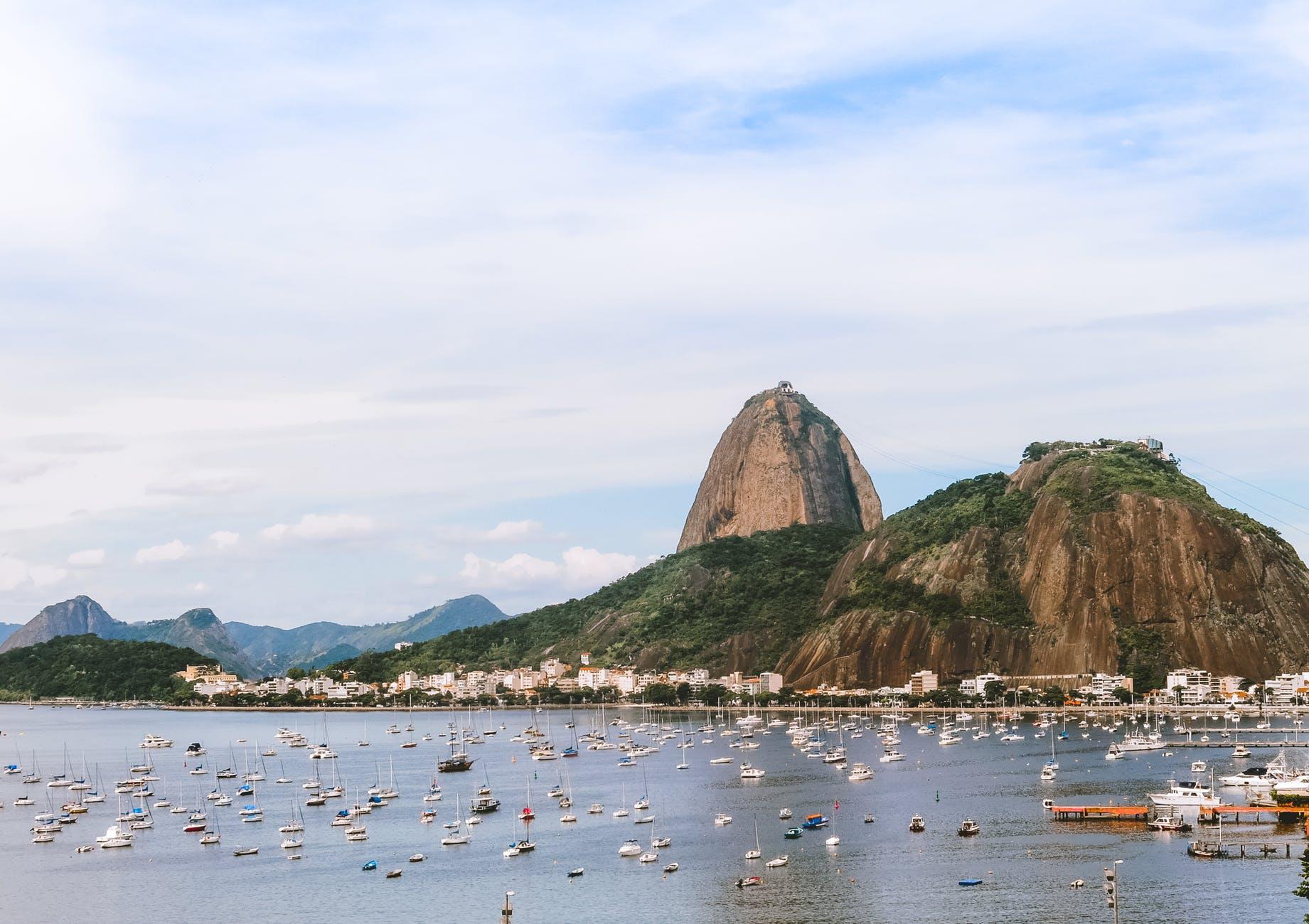 bay beach brazil city